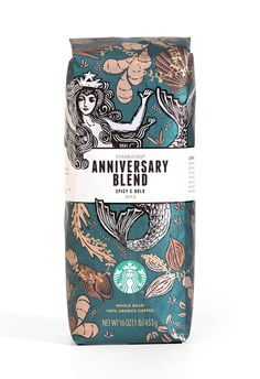 Starbucks Anniversary Blend #coffee #pack