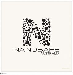 Nanosafe logo proposal #logo #science #molecules #resinism #nanotechnology #southern cross