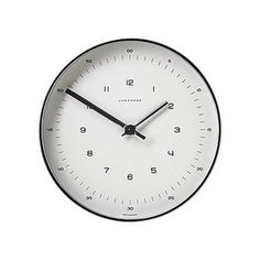 Max Bill Wall Clock – HowdyHeidi #design