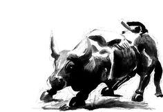 Bull VI | Ink on Paper | 11