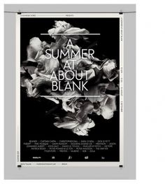 The Strange Attractor #black #white #poster #and