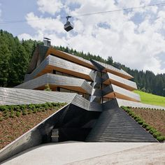 CJWHO ™ (Dolomitenblick by Plasma Studio The building is...) #design #landscape #photography #architecture #dolomites