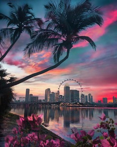Magical Cityscapes and Travel Landscapes by Dotz Soh
