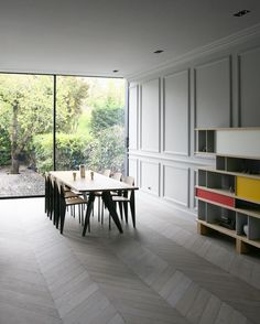 Dining area. Rue Du Japon by RMGB. #diningroom