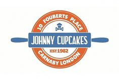 Johnny Cupcakes London Cartoon (Video) | The Daily Street #logo #stamp #vintage