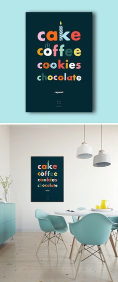 Happy Stuph Poster Design - One Plus One Design #Poster #Design #Illustration