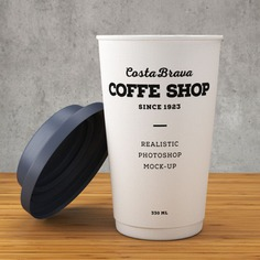 Paper coffee cup mockup Free Psd. See more inspiration related to Mockup, Food, Coffee, Template, Paper, Packaging, Tea, 3d, Cafe, White, Drink, Cup, Mug, Up, Cardboard, Beverage, Blank, Empty, Mock, Lid, Away and Disposable on Freepik.