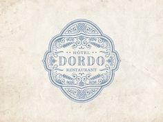 Dribbble - Dordo by JC Desevre #logo #vector #emblem #vintage