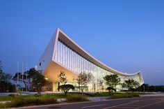 CJWHO ™ (National Library of Sejong City, Korea by...)