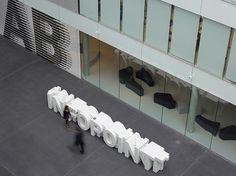 Adidas Laces 2011 | Büro Uebele | typetoken® #wayfinding #signage #typography