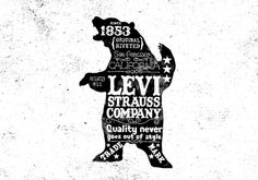 Levi's by bmd design on the Behance Network #type #bear #lettering #levis