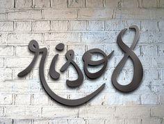 Riso8 Restaurant #logo #branding #restaurant