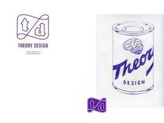 Theory design on the Behance Network #logo #identity