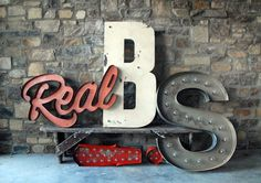 Vintage Signs #sign #real #vintage
