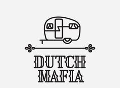 mkn design Michael Nÿkamp #font #mafia #camper #numbers #type #dutch