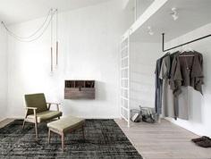 int2 architecture mezzanine apartment russia #decor #interior #home
