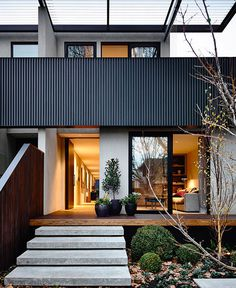 Elwood Townhouse by InForm - #architecture, #house, #home, #decor, #interior,