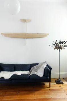 1Anna #couch #interiors #black