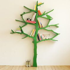 Tree Bookcase #tech #flow #gadget #gift #ideas #cool