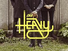 serialthrill:The Heavy by Chaz Russo #design #the #identity #music #heavy