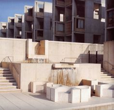 Mike Carrell « moreAEdesign #architecture #water #fountain #louis kahn #salk institute