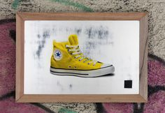 The one with the all star #popart #print #converse #chucks #screen #spraypaint #art