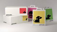 Gula Hunden, Branding on Behance #behance #hunden #branding #gula
