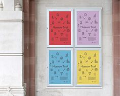 Posters outside the museum #museum #hove #brighton #exhibition #lgbtq #posters