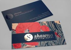 Business Card Design | Shawna Photographer #vcard