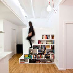 bookshelf staircase #architecture #book #stairs