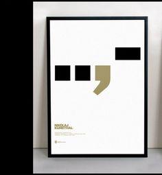 Nikolaj Kunsthal | Scandinavian DesignLab #design #typography #poster