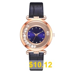 New #Fashion #Women #Creative #Ball #Dial #Leisure #Quartz #Wrist #Watch #- #BLUE