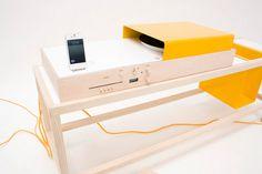 Cтерео система Keep On Turnin #furniture #design