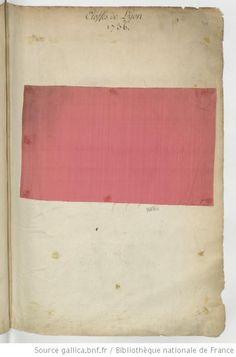 "treebystream: ""Etoffes de Lyon // 1736 """