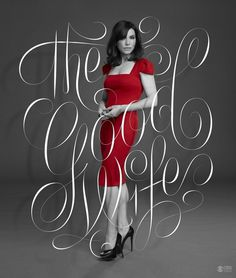 Typeverything.com Lady in Red — by Erik Marinovich / Friends of Type #fashion #type #beauty #typography