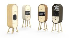 Lo-Lo The Capsular Microkitchen by Aotta Studio - www.homeworlddesign. com (1) #office #kitchen #design #furniture