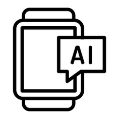See more icon inspiration related to smartwatch, time and date, AI, chat bubble, wristwatch, electronic, communications, device, chat, fashion, multimedia and technology on Flaticon.