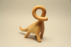 Lemon Wood Dino on Behance