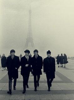 tumblr_lhfc0tNeVx1qcku51o1_400.jpg (JPEG Imagen, 369x500 pixels) #music #paris #beatles