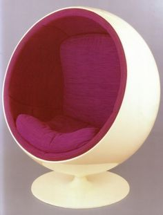WANKEN - The Blog of Shelby White » Chairs of Mid-Century Modern #modern #ball #chair #aarnio #vintage #eero #midcentury
