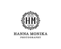 Hanna Monika by contactme #white #serif #design #black #ornament #and #logo