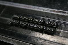 L'Imaginari de la Carla #printing #letterpress #traditional