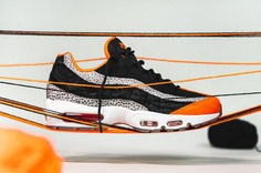 nike air max 95 Keep Rippin Stop Slippin 2018 footwear nike sportswear black granite safety orange
