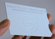 Beautifully Crude Arts #business card