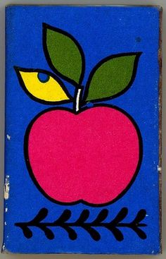 apple matchbook | Flickr - Photo Sharing! #apple #retro #illustration #vintage #matchbook