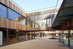 Architecture Photography: School Center Lucie Aubrac / Dietmar Feichtinger Architectes School Center Lucie Aubrac / Dietmar Feichtinger Architectes †#architecture