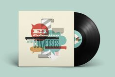 Vinyl cover for Jazz band El Colectivo #vinyl #cover #jazz #music #typography #label