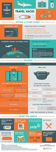 Travel Hacks #flying #travel #hotels