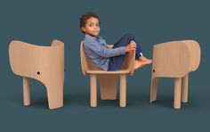 #elephant #chair #children #kids