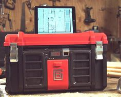 Coolbox toolbox is the smartest gizmo companion you can have while working on your projects. #design #product #outdoor